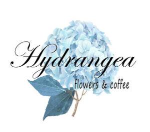 Hydrangea Flowers & Coffee Cafe